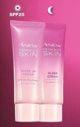 ANEW Perfect Skin Wake Up Cream and Sleep Cream